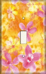 Gold/Pink Assortment - Light Switch Plate Cover