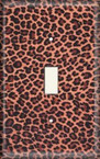Leopard Print - Light Switch Plate Cover
