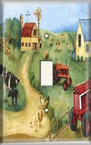 The Farm - Light Switch Plate Cover