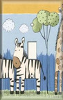 Zebra/Giraffe - Light Switch Plate Cover