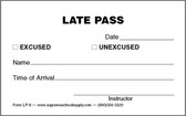 Late Pass (LP-8)