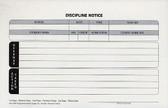 Discipline Notice, Triplicate (DN18)