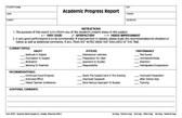 Academic Progress Report (APR3)