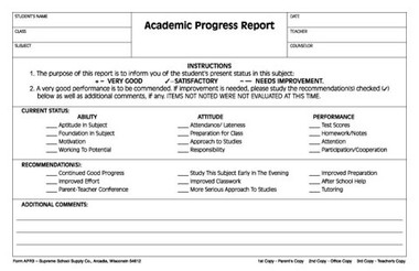 what is an academic report