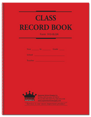 Class Record Book, 8 Subject, 9 weeks (910-8LGN)