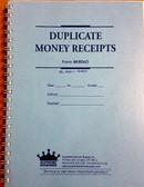 Receipt Book - 4 Per Page, Duplicate (8K806)