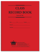 Class Record & Plan Book, 6-7 Week (67-8C)