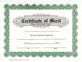 "Certificate of Merit - 11""X8.5"" (532)"
