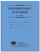 Teachers Daily Plan Book Duplicate (466D)