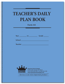 Daily Plan Book With Objectives - Black Print (44)