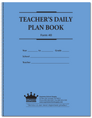 Teachers Daily Plan Book (40)