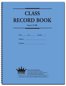 Class Record & Plan Book, 9-Week (37-8C)