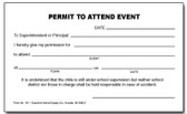 Permit To Attend (151)