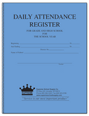 Attendance Register, 189 Series (189-40)