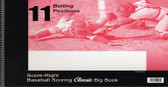 Baseball Softball 11 Position Score Book Big Book  (11SR100CP)