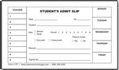 Student's Admit Slip (117P)