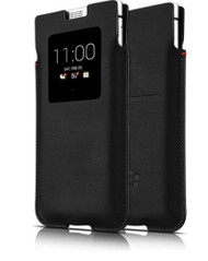 Genuine BlackBerry KEYone Smart Pocket Pouch Case - Black (PKB100)
