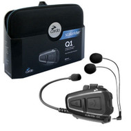 Cardo Scala Rider Q1 Solo Motorcycle Bluetooth Headset - BTSRQ1
