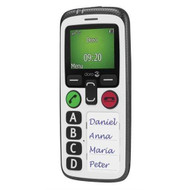 Doro Secure 580 UK SIM Free Mobile Phone - White - 6515