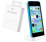 Genuine Apple Desktop Charging Cradle Dockingstation for Apple iPhone 5c - White (MF013ZM/A)