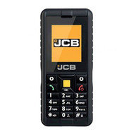 JCB Tradesman 2 SIM-Free Unlocked Tough Shockproof Mobile Phone - Black - J127-DSGE-E03-KBB
