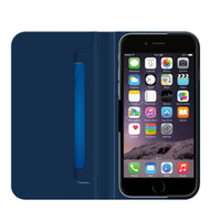 Genuine Belkin Classic Wallet Folio Flip Case Cover with Stand and Card Slot for iPhone 6 Plus and iPhone 6s Plus (5.5 inch) - Blue (F8W623btC01)