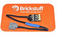 "Brickstuff LEGO Power Functions Power Source v2 with 9"" (22.8cm) Cable and 3 Channel 5V DC Output - SEED07"