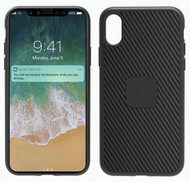 Cygnett UrbanShield Carbon Fibre Case Cover for Apple iPhone X - Black - CY2238CPURB
