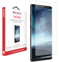 Genuine Zagg InvisibleShield HD Dry Screen Protection for the Samsung Galaxy Note 8