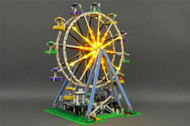 Brickstuff Premium Lighting Kit for the Lego Creator Ferris Wheel 10247 ***Power Supply Not Included*** - KIT06