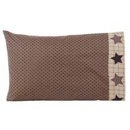 Bingham Star Pillow Case Set of 2 21x30