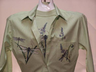 Dragonfly Lace L/S Shirt