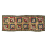 Tea Cabin Runner Quilted 13x72