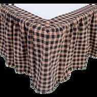 Bingham Star Queen Bed Skirt 60x80x16