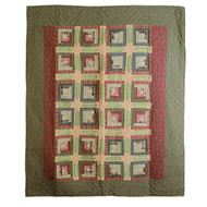 Tea Cabin Throw 60x50