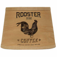"Rooster Brand 10"" Tapered Drum Tea Dyed"