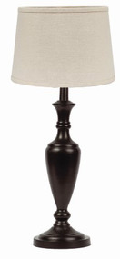 "Stonecreek Table Lamp 6"" x 20"" Black"