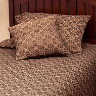 "Marshfield Jacquard 21"" x 31"" Black - Tan"