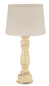"Worthington Accent Lamp  4"" x 12"" Buttermilk"