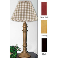 "Wilmont Table Lamp  6"" x 18"" Barn Red"