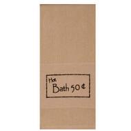 "Hot Bath 50 cents 18"" x 28"" Black - Nutmeg"