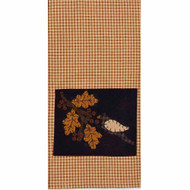 "Good Harvest 18"" x 28"" Mustard - Black"