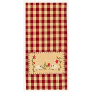 "2 Sheep  18"" x 28"" Barn Red - Nutmeg"