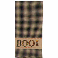 "Boo 18"" x 28"" Black - Nutmeg"