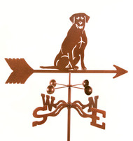 Lab (Sitting) Weathervane