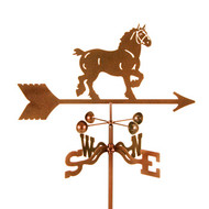 Draft Horse Weathervane