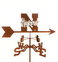 Nebraska Weathervane