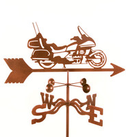 Motorcycle (Touring) Weathervane