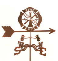 Fire Department Weathervane