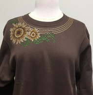 Sunflower Glitz Sweatshirt